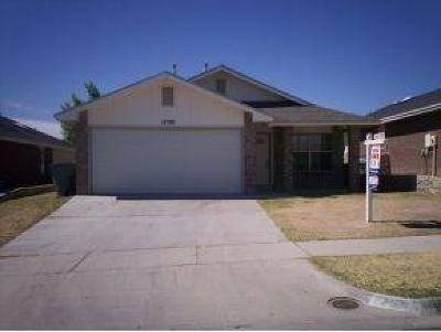El Paso Single Family Home For Sale: 12520 Alicia Arzola