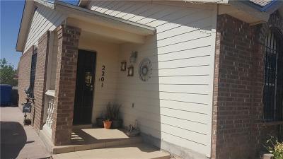 El Paso Single Family Home For Sale: 2201 Tierra De Paz