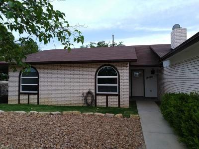 El Paso Single Family Home For Sale: 10748 Pico Norte Road