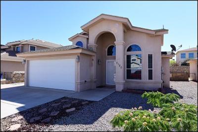 El Paso Single Family Home For Sale: 3120 Tierra Pino Drive