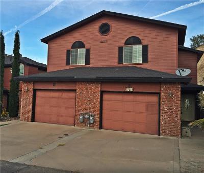 El Paso Single Family Home For Sale: 7235 Royal Arms Drive #E