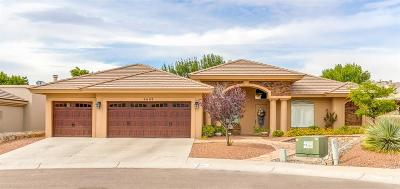 El Paso Single Family Home For Sale: 6609 Heritage Ridge
