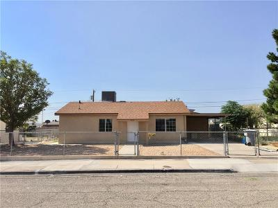 El Paso Single Family Home For Sale: 4724 Britton Avenue
