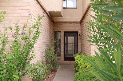 El Paso Single Family Home For Sale: 4618 Stanton Street #F41
