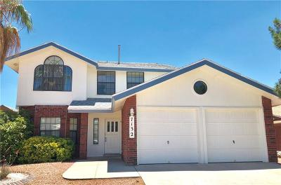El Paso Single Family Home For Sale: 7132 Oval Rock Drive