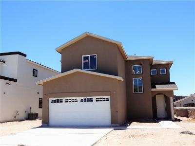 El Paso Single Family Home For Sale: 12250 Joaquin Roman Lane