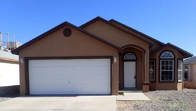 El Paso Single Family Home For Sale: 12369 Tierra Apache