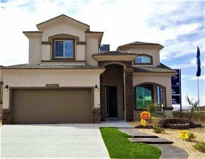El Paso Single Family Home For Sale: 12411 Winners Circle