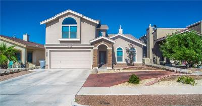 El Paso Single Family Home For Sale: 6536 Latimer Place