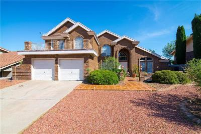 El Paso Single Family Home For Sale: 5641 Cortina Drive