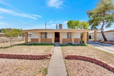 El Paso Single Family Home For Sale: 6107 Tejas Drive