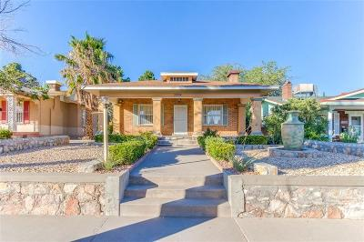 El Paso Single Family Home Active with Contingency: 2004 Campbell Street