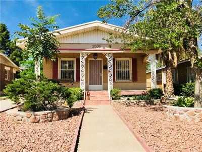 Single Family Home For Sale: 2006 Campbell Street