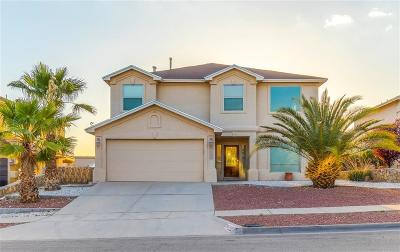 Horizon City Single Family Home For Sale: 413 Emerald Trail