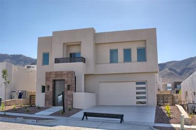 El Paso Single Family Home For Sale: 1260 Desert Night Street