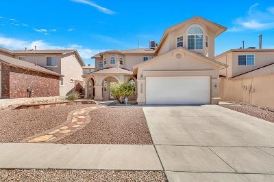 El Paso TX Single Family Home For Sale: $211,500