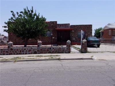 El Paso Single Family Home For Sale: 440 Alicia Drive