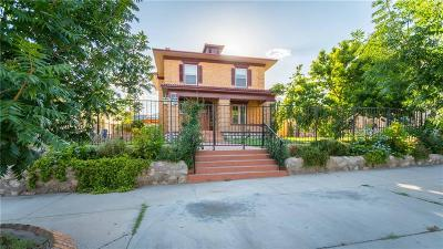 El Paso Single Family Home For Sale: 1311 Elm Street