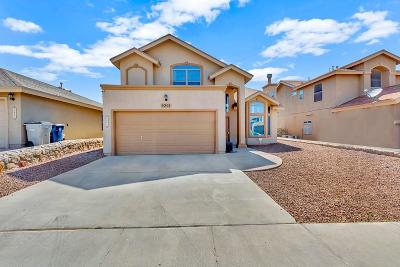 El Paso Single Family Home For Sale: 6501 Geyser