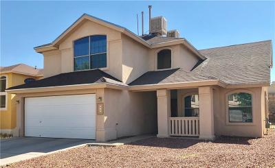 Horizon City Single Family Home For Sale: 524 Gentry