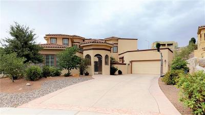 El Paso Single Family Home For Sale: 6313 Franklin Crest Drive
