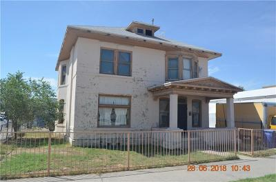 El Paso Single Family Home For Sale: 1332 Myrtle Avenue