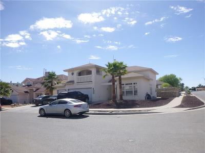 El Paso Single Family Home For Sale: 1433 Joe Ray