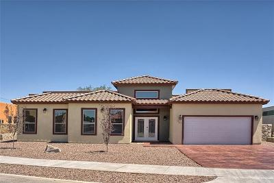 El Paso Single Family Home For Sale: 961 Maximo Drive