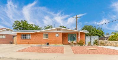 El Paso Single Family Home For Sale: 1212 Oakdale Street