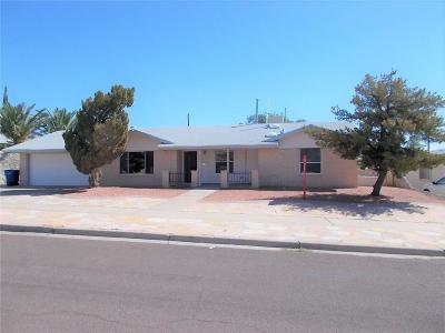 El Paso Single Family Home For Sale: 4605 Tumbleweed Avenue