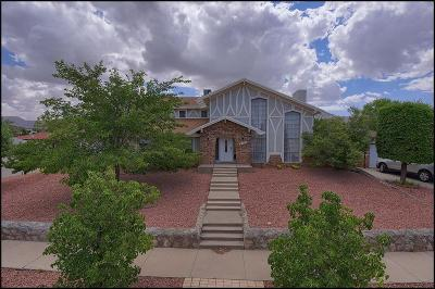 El Paso Single Family Home For Sale: 332 Windrose Place