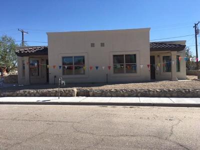 El Paso Single Family Home For Sale: 200 Paden Street #A