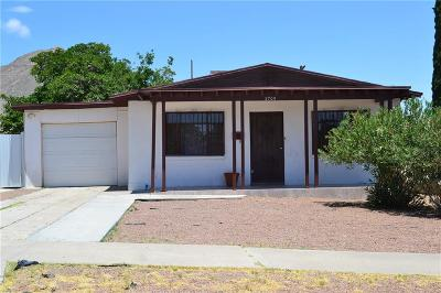 El Paso Single Family Home For Sale: 2705 Jefferson Avenue