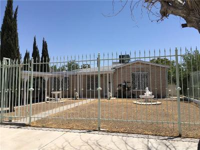 El Paso Single Family Home For Sale: 4310 Frankfort Avenue
