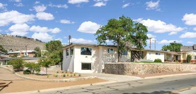 El Paso Single Family Home For Sale: 3612 Stanton Street