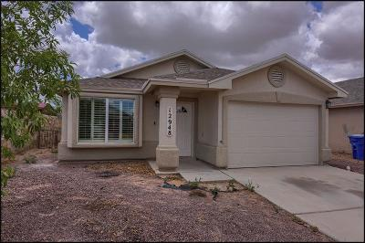 El Paso Single Family Home For Sale: 12948 Beto Portugal Lane