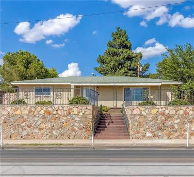 El Paso Single Family Home For Sale: 2014 Stanton Street
