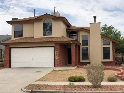 El Paso Single Family Home For Sale: 7226 Oval Rock Drive