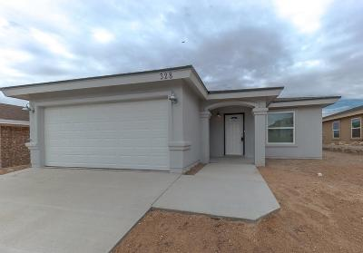El Paso Single Family Home For Sale: 328 Via Cumbre Linda Drive