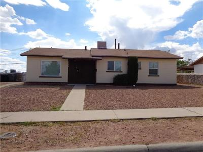 El Paso Single Family Home For Sale: 1123 Cuba Drive