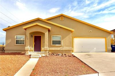 El Paso Single Family Home For Sale: 3916 Milky Way Court