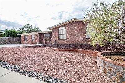 El Paso Single Family Home For Sale: 344 Clairemont Drive