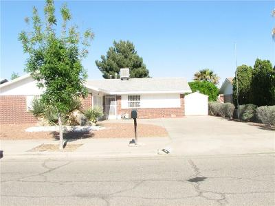 Single Family Home For Sale: 3452 Balmorhea Street