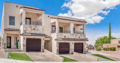 El Paso Single Family Home For Sale: 700 Espada Drive #B