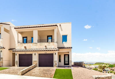 El Paso Single Family Home For Sale: 700 Espada Drive #C