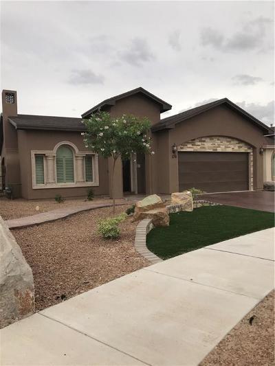 Horizon City Single Family Home For Sale: 176 Manzanita Drive