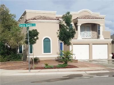Single Family Home For Sale: 3144 Tierra Bowles