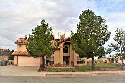 El Paso Single Family Home For Sale: 913 Las Palmas Way