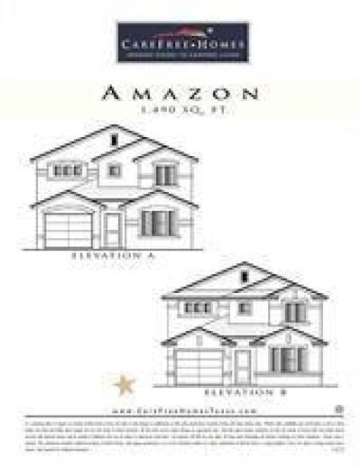 Clint Single Family Home For Sale: 124 Santa Fe River Way