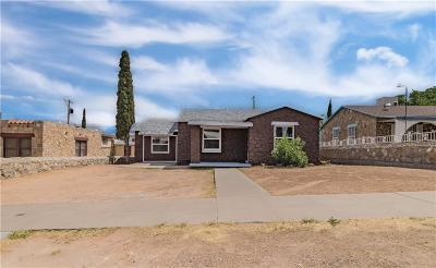 El Paso Single Family Home For Sale: 3812 Monroe Avenue